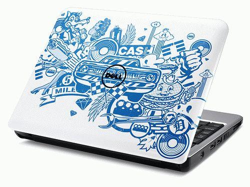 Black Carbon Fiber skin decal wrap skin Case for Dell inspiron 13 5000  series 5368 5378