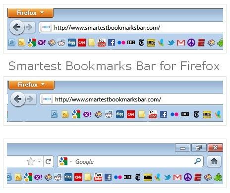 Firefox Add-on : Smartest Bookmarks Bar - TechnoGadge