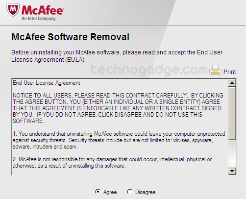McAfee Consumer Product Removal tool Free Download for ...