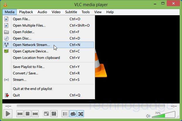 How to Play Online Videos in VLC player? - TechnoGadge