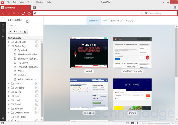 Getting Started with Vivaldi Web Browser - TechnoGadge