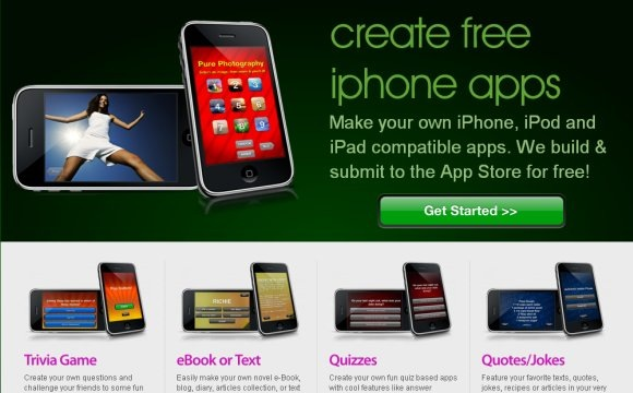 build your own iphone apps with free iphone app builder